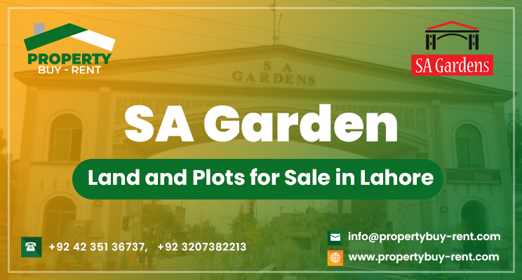 SA Garden-Land & Plots for Sale in Lahore Property Buy Rent