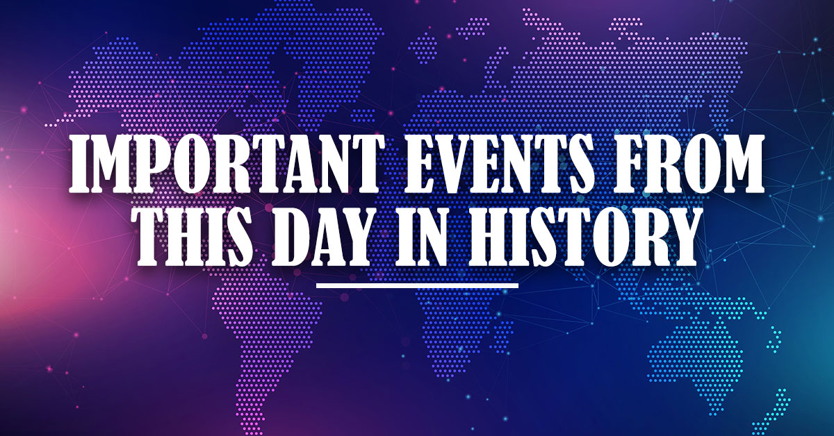 Important-Events-From-This-day-in-History