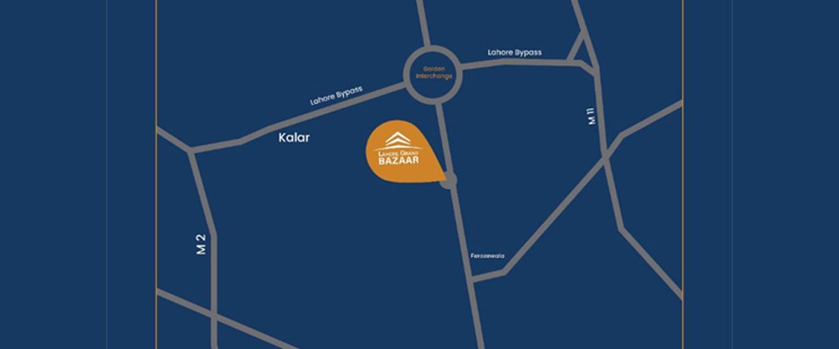 Location-of-Lahore-Grand-Bazaar